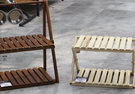 折り畳み式木製ラック 各サイズ入荷しました