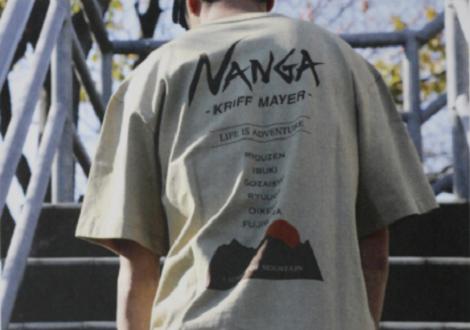 「NANGA」と「KRIFF MAYER」とのコラボアイテム!