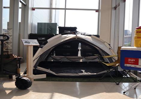 簡単に設営できるテントお探しですか?