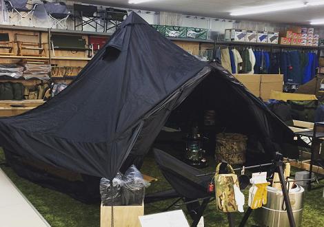 テント設営イベント開催します!